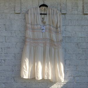 NWT Free People cream dress